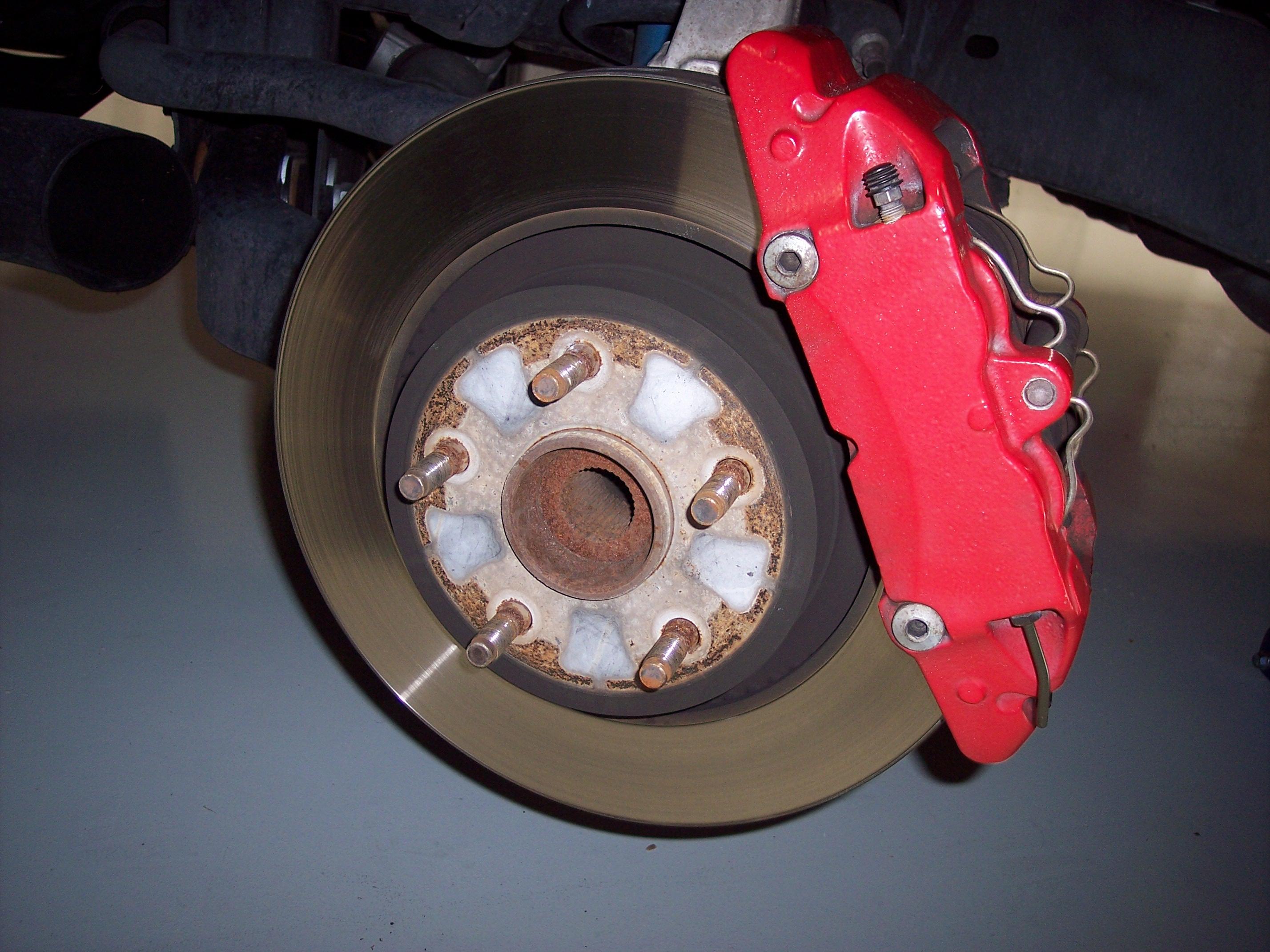 2006 Dodge Ram 1500 Srt10 Front Baer Rotors And Ebc Pads