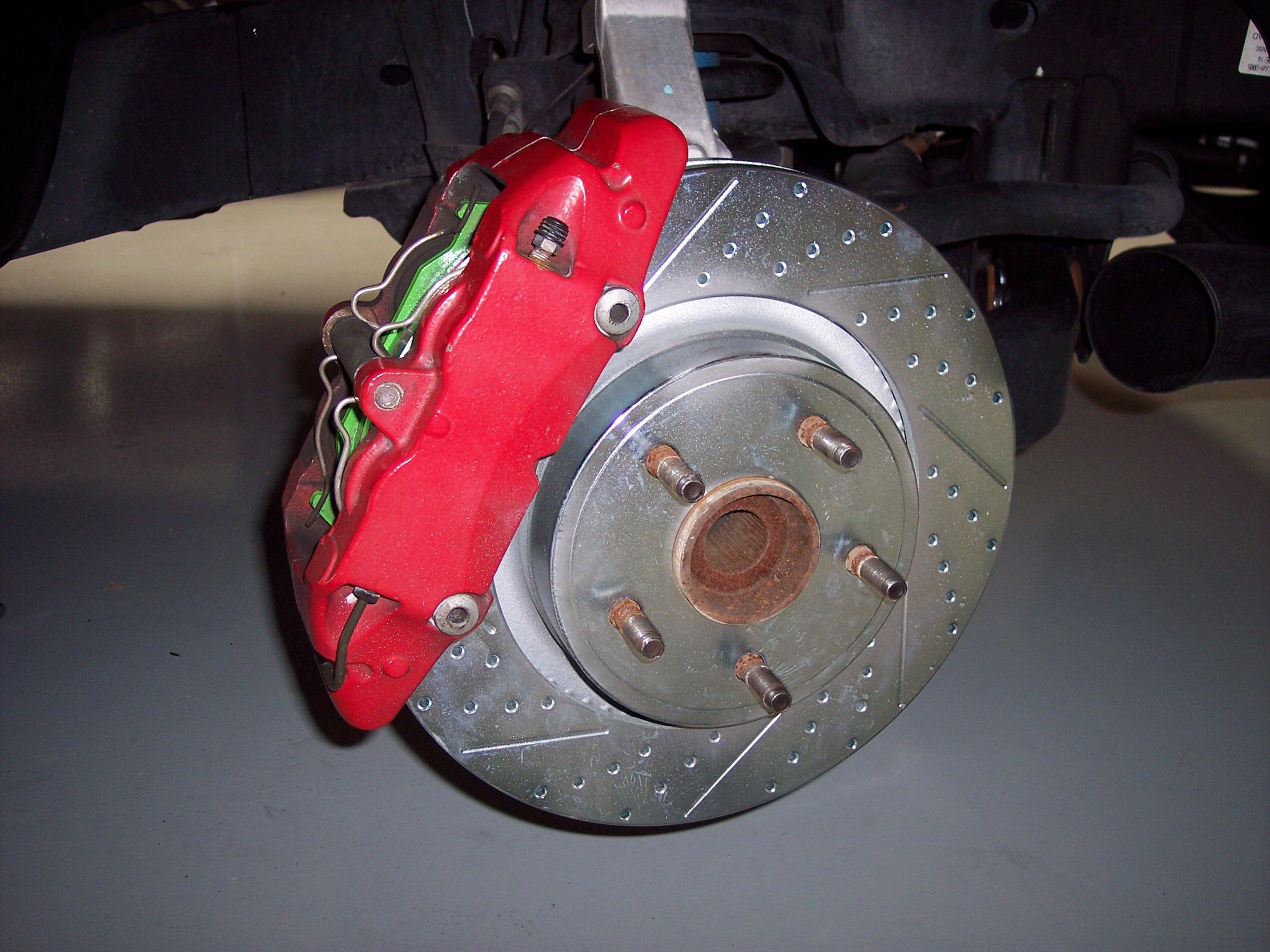 Ebc Brake Pads >> 2006 Dodge Ram 1500 SRT10 – Front Baer Rotors and EBC Pads